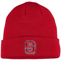 NC State Wolfpack Top of the World Simple Cuffed Knit Hat - Red - OSFA