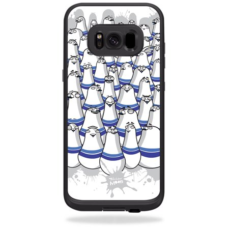 Skin For LifeProof Samsung Galaxy S8 fre Case - pigeon pins | Protective, Durable, and Unique Vinyl Decal wrap cover | Easy To Apply, Remove, and Change Styles (Remove Pigeons)