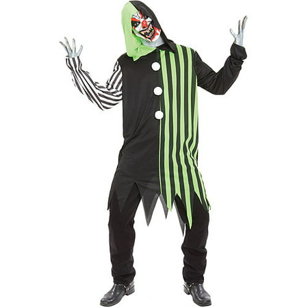 Cleaver the Clown Adult Halloween Costume - Scary Clown Halloween Costumes