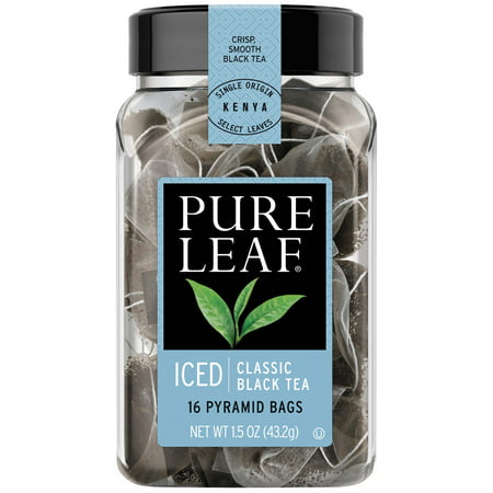 Pure Leaf Classic Black Tea Iced Tea Bags, 16