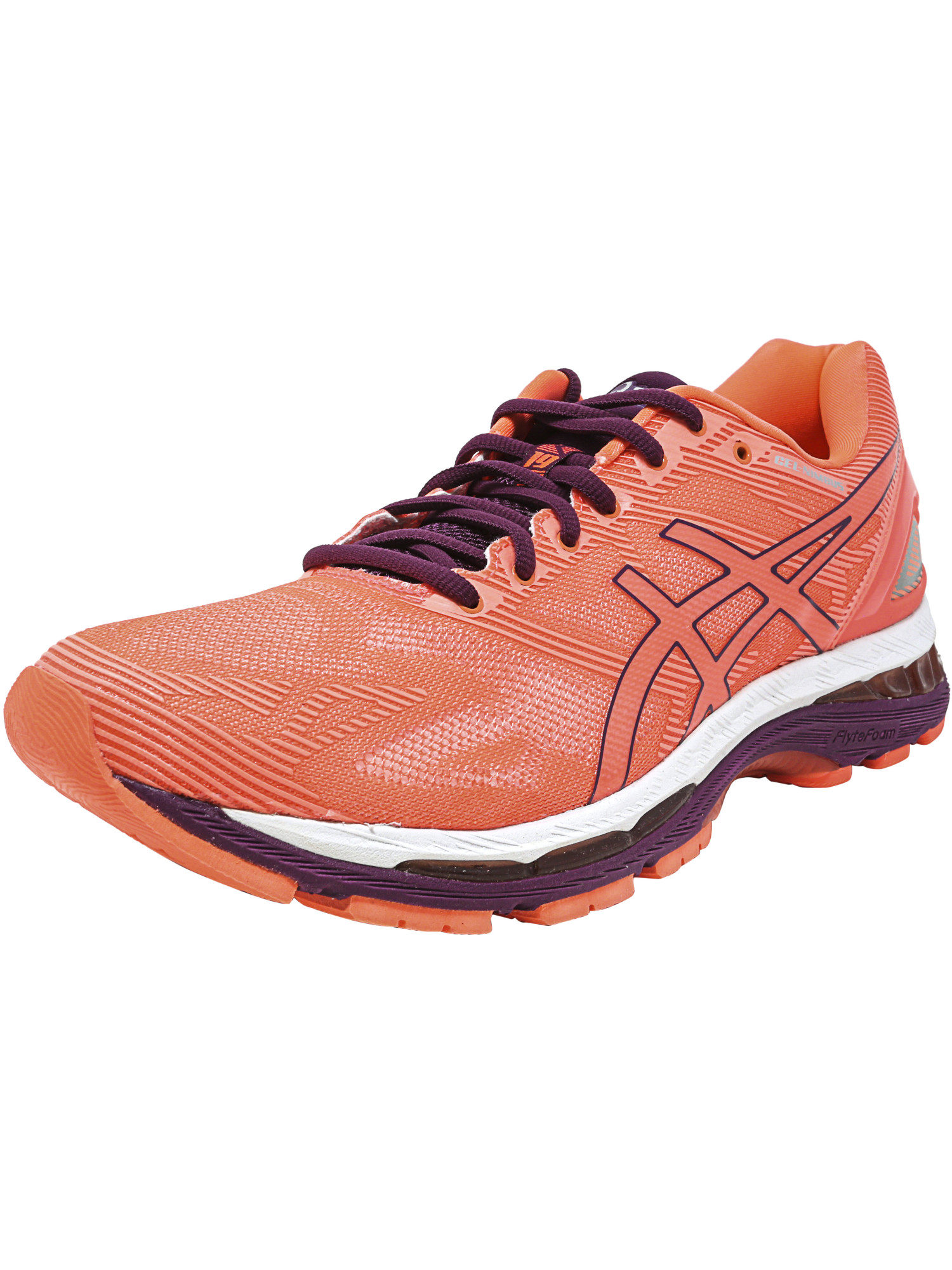 ASICS Asics Women's Gel Nimbus 19 Flash Coral Dark
