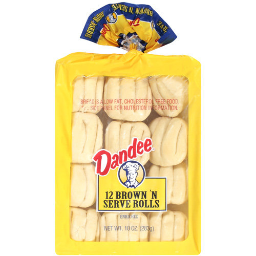 Dandee: Brown 'n Serve Rolls, 10 Oz
