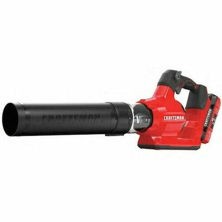CRAFTSMAN 60-volt Max Li Ion 600-CFM Brushless Cordless Leaf Blower (batt incl)