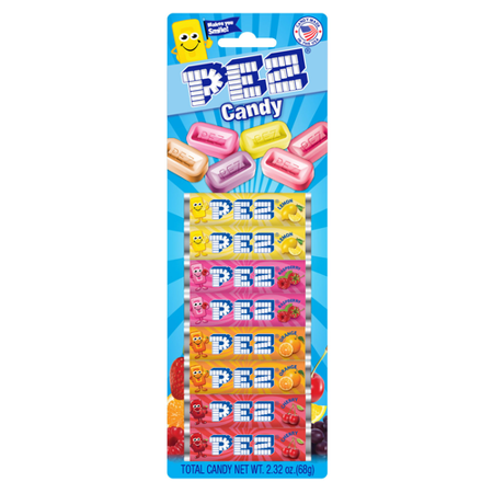 Candy Refills - Assorted Fruit PEZ Candy Refill