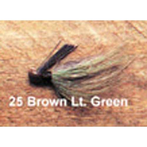 Click here to buy Arkie 1 4 Bucktail 6 cd Brown Green.