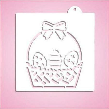 Easter Basket PYO Stencil](Easter Stencils)