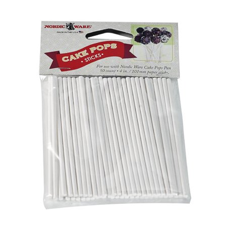 NORDIC WARE CAKE POP STICKS 50CT; ;;;;;;;;