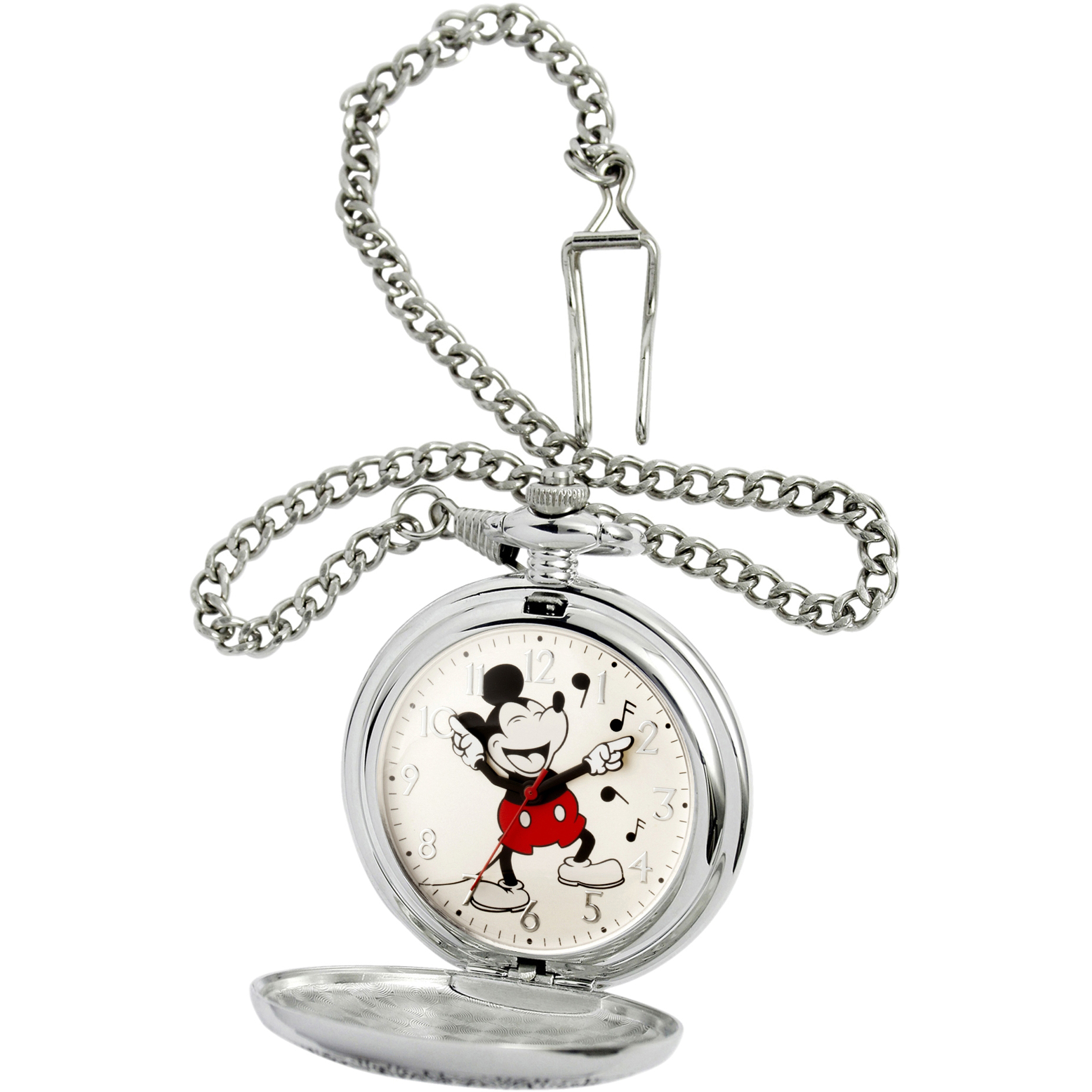 pocket watches walmart 100 Dollar Watches product image disney mickey mouse men s silver pocket watch