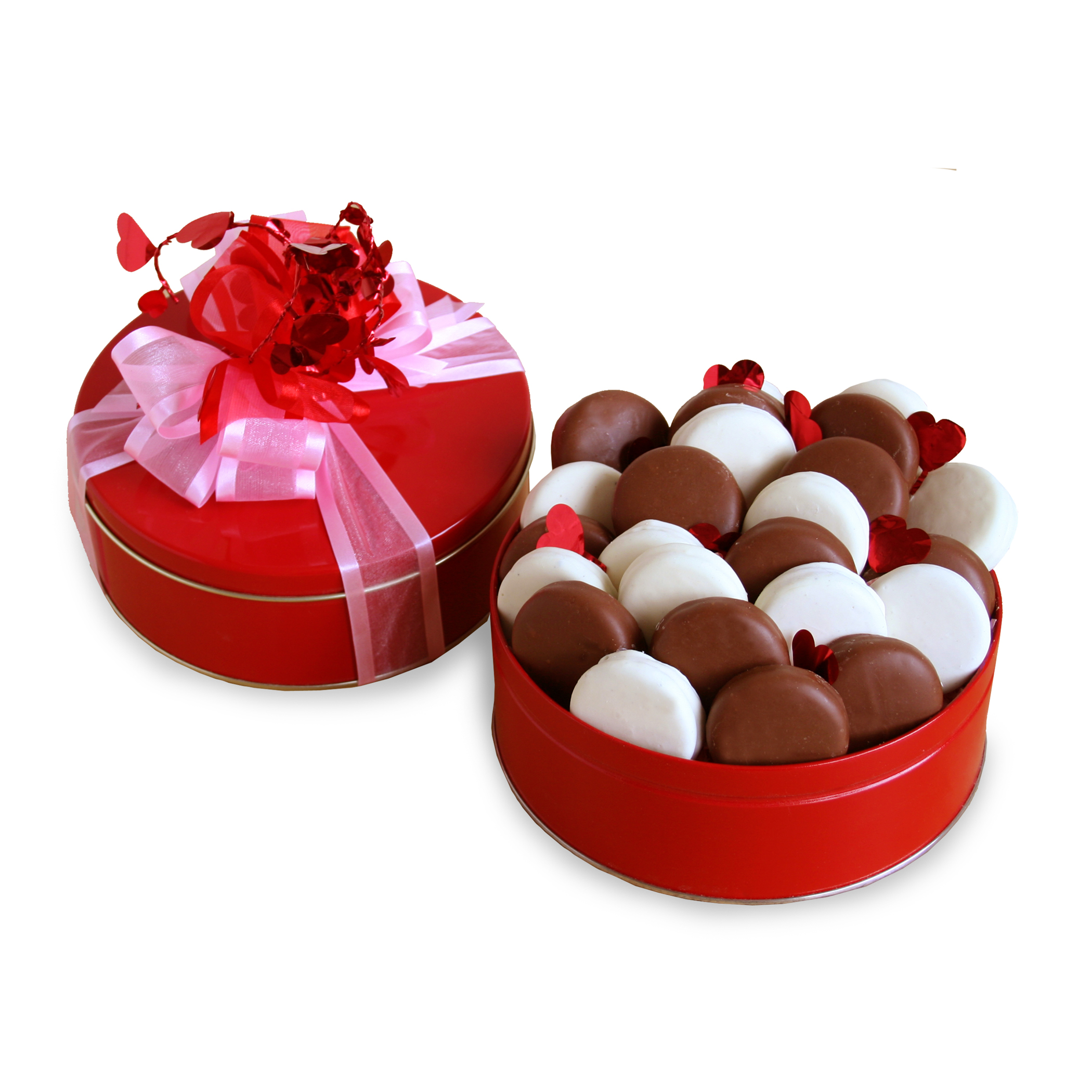 California Delicious Chocolate And Delicious Valentine Gift Tin