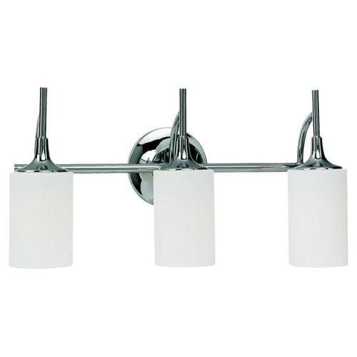Sea Gull Lighting 44954 Stirling 3 Light Bathroom Vanity Light