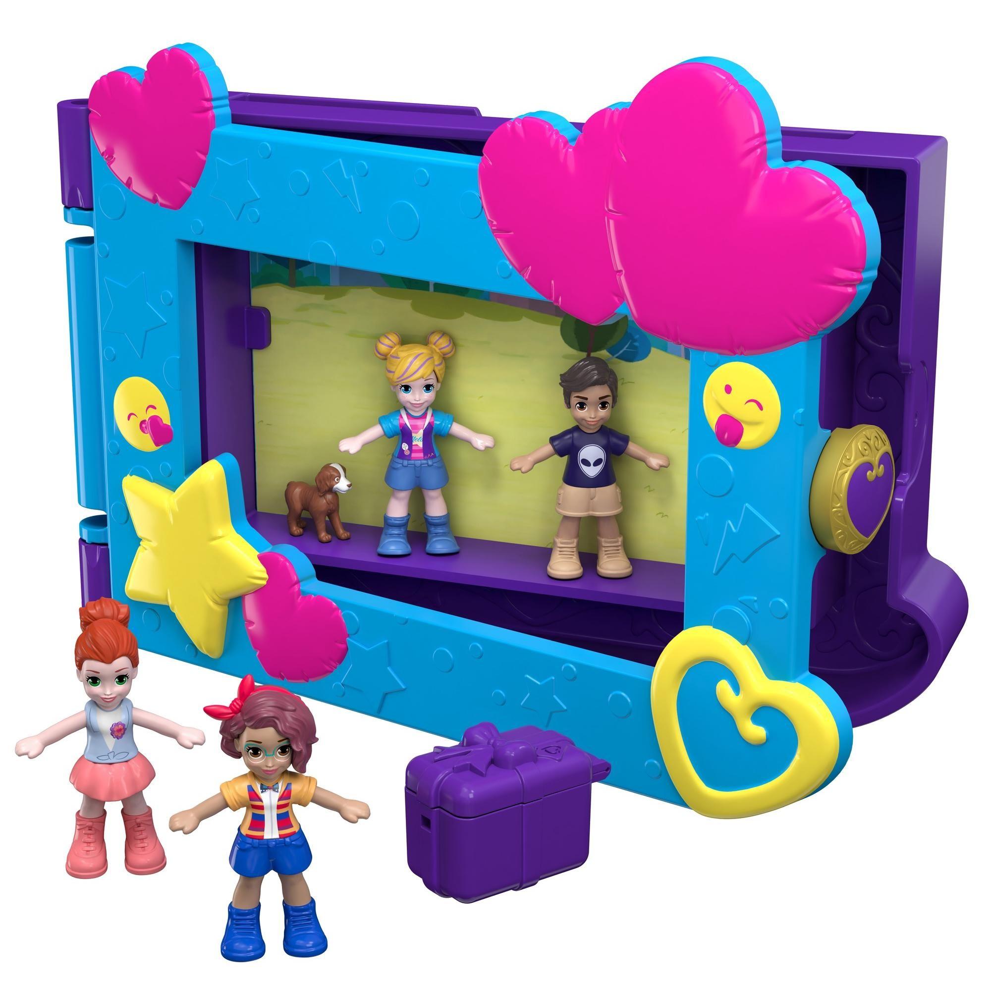 Polly Pocket Say Freeze! Frame Pocket World Play Set