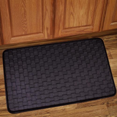 kitchen floor mats walmart bed bath n more memory foam anti fatigue kitchen floor mat 4790
