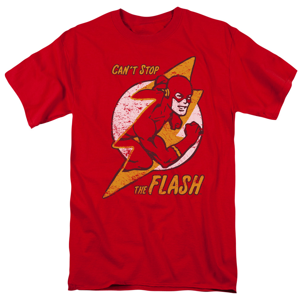 DC Comics Flash Bolt Mens Short Sleeve Shirt