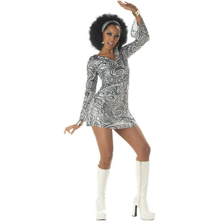 Adult Disco Diva Costume California Costumes 956 - Girl Disco Costume