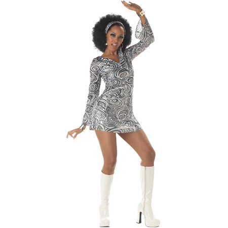 Adult Disco Diva Costume California Costumes 956 - Dark Disco Halloween