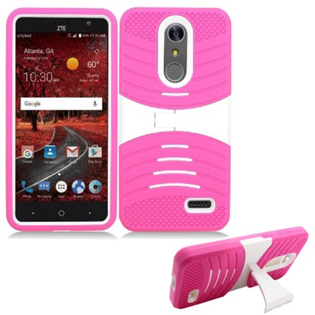 timeless design 0f839 3e271 Phone Case for ZTE Zmax One Z719DL, Tracfone Max One Case, ZTE Blade-Spark  Gophone AT&T / Cricket ZTE Grand X-4 LTE Rugged Heavy Duty Armor Cover ...