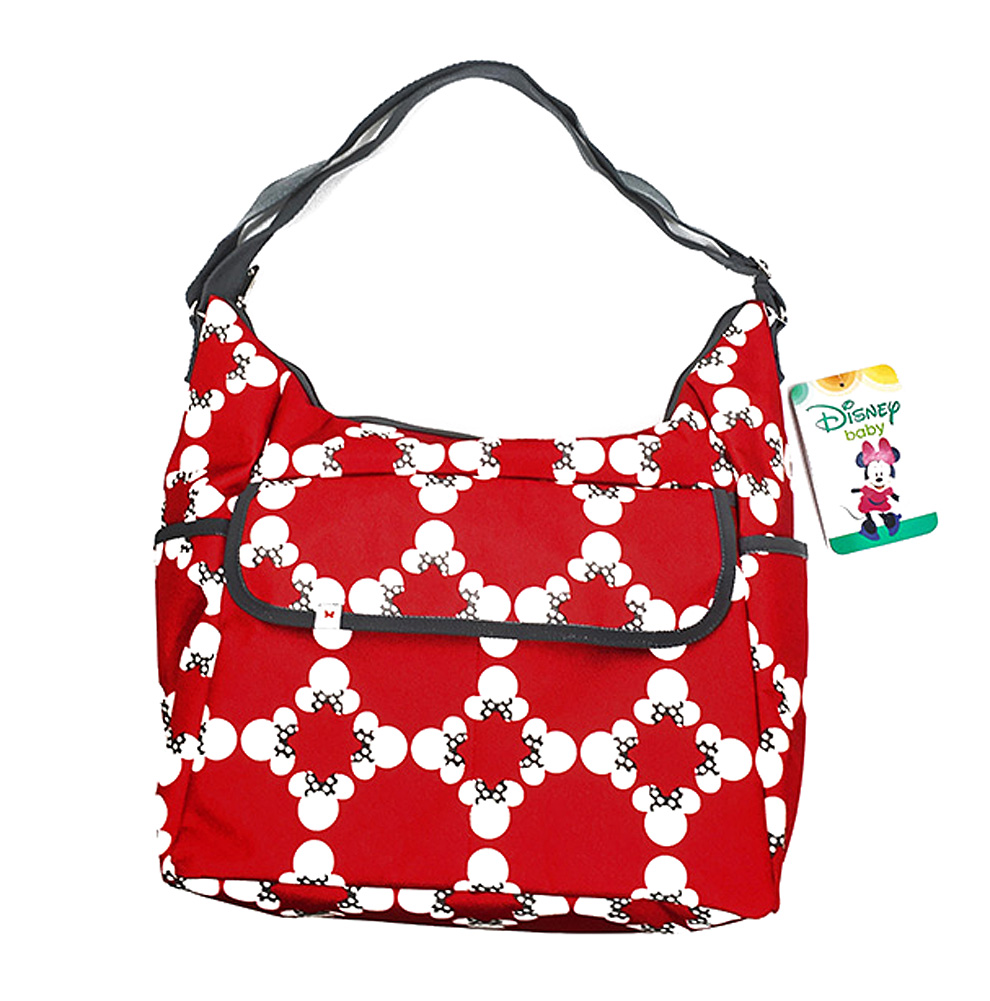 Disney Minnie Mouse Classic Carryall Red and White Diaper Bag - image 3 of 3