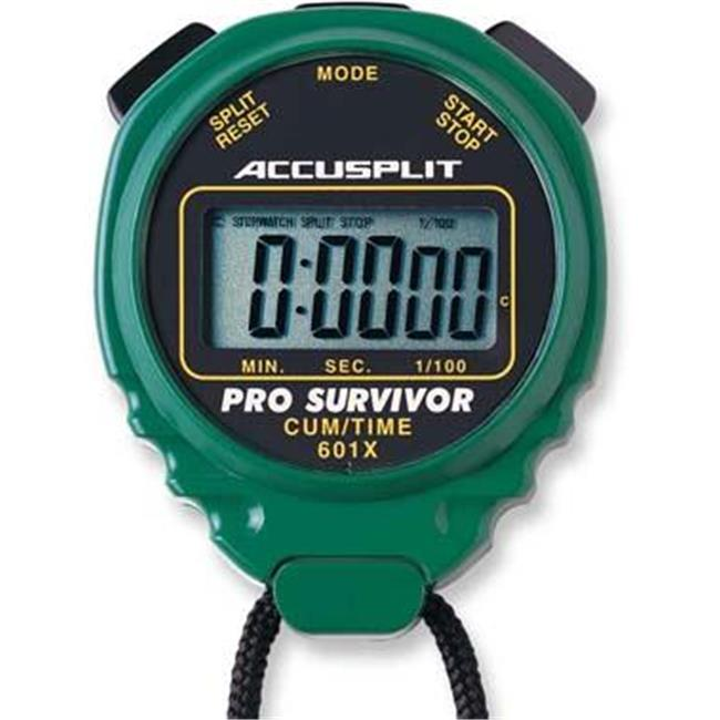 Olympia Sports TL069P ACCUSPLIT Pro Timer Green by Olympia Sports