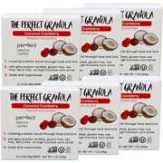The Perfect Granola - Coconut Cranberry, Granola Bars (Case of 6)