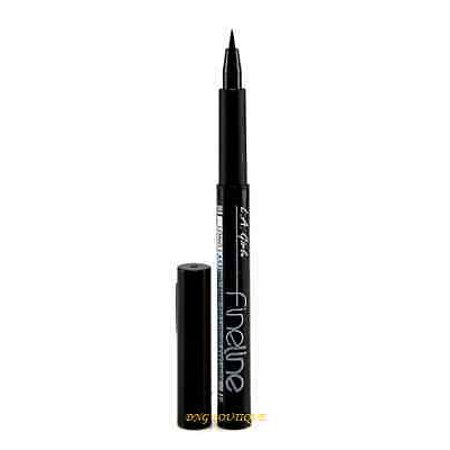 LWS LA Wholesale Store  LA L.A. Girl Fineline Long Lasting Black Liquid Eye Liner
