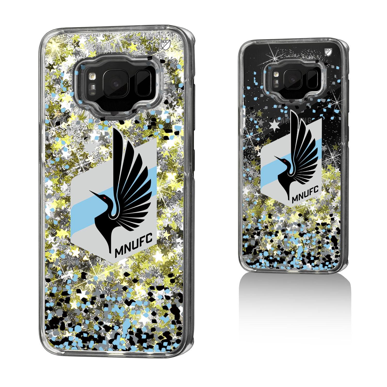 Minnesota United FC MNUFC Confetti Glitter Case for Galaxy S8