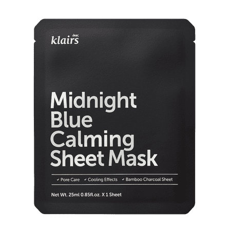Klairs Midnight Blue Calming Face Sheet Mask