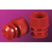 STOCKWELL SCIENTIFIC Thumb Caps,Snap On,LDPE,,Red,PK1000 8559R