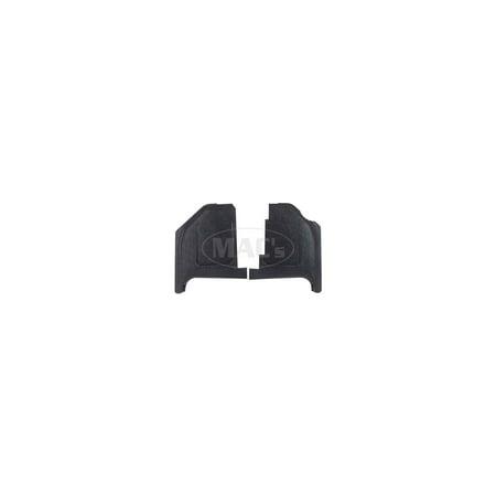 MACs Auto Parts  42-48280 Kick Panel - Black Injection Molded ABS Plastic - Fairlane,Torino & Ranchero