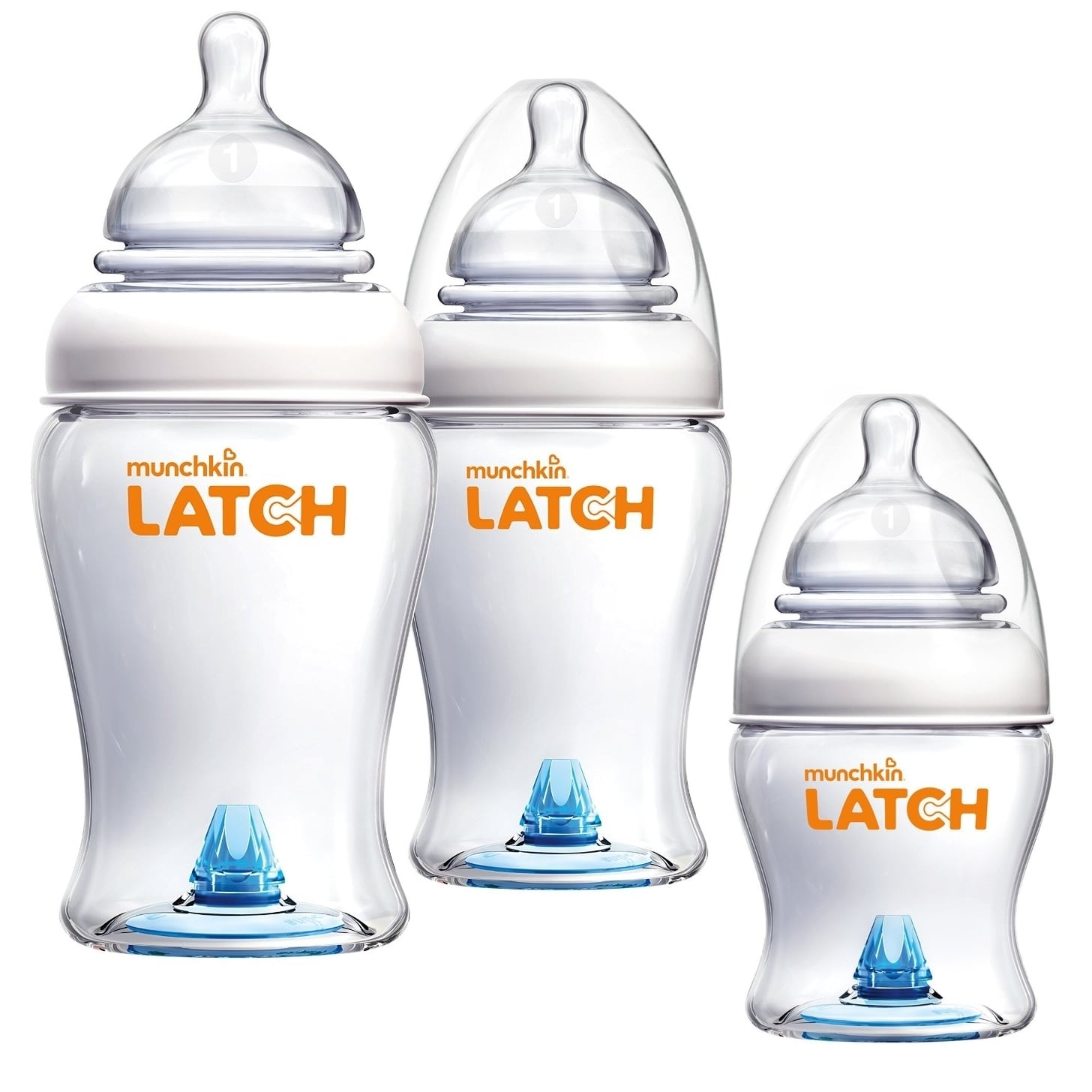 Munchkin Latch BPA-Free 4 Ounce and 8 Ounce Bottle Set