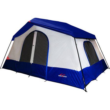 Suisse Sport 10 X 8 Yosemite 5 Person Cing Tent Blue Orange Tmdb100872bg
