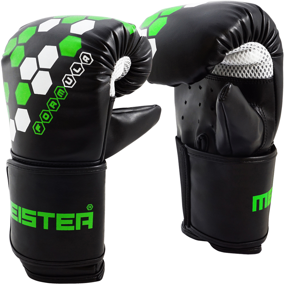 Meister Formula Hex Bag Mitts for MMA, Boxing & Muay Thai - Small / Medium (9oz)