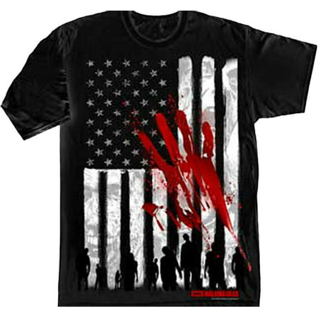 Bloody Hands (The Walking Dead American Flag & Bloody Hand Adult)