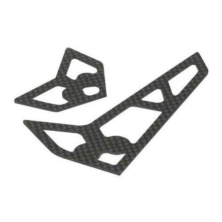 Carbon Fiber Stabilizer - E-Flite Stabilizer/Fin Set, Carbon Fiber: Blade 400