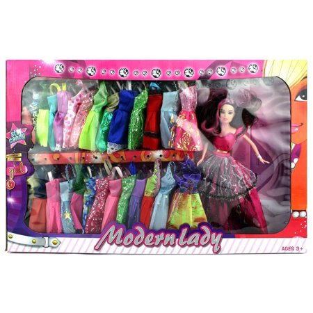 Full Wardrobe / Multiple Dresses for Toy Dolls 11.5