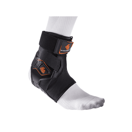 Shock Doctor 2055 Bio-Logix Ankle Brace, RIGHT M/L, BLACK
