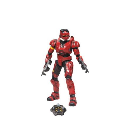 McFarlane Halo Series 4 Spartan Soldier EOD Action Figure [Red]](Super Soldier From Halo)