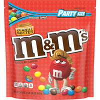 M&M'S Peanut Butter Chocolate Candy, 34-Oz. Party Size Bag