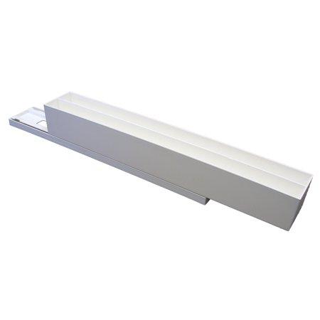 Lik M Aid (Dial Industries B200w White Lid Maid Cabinet)