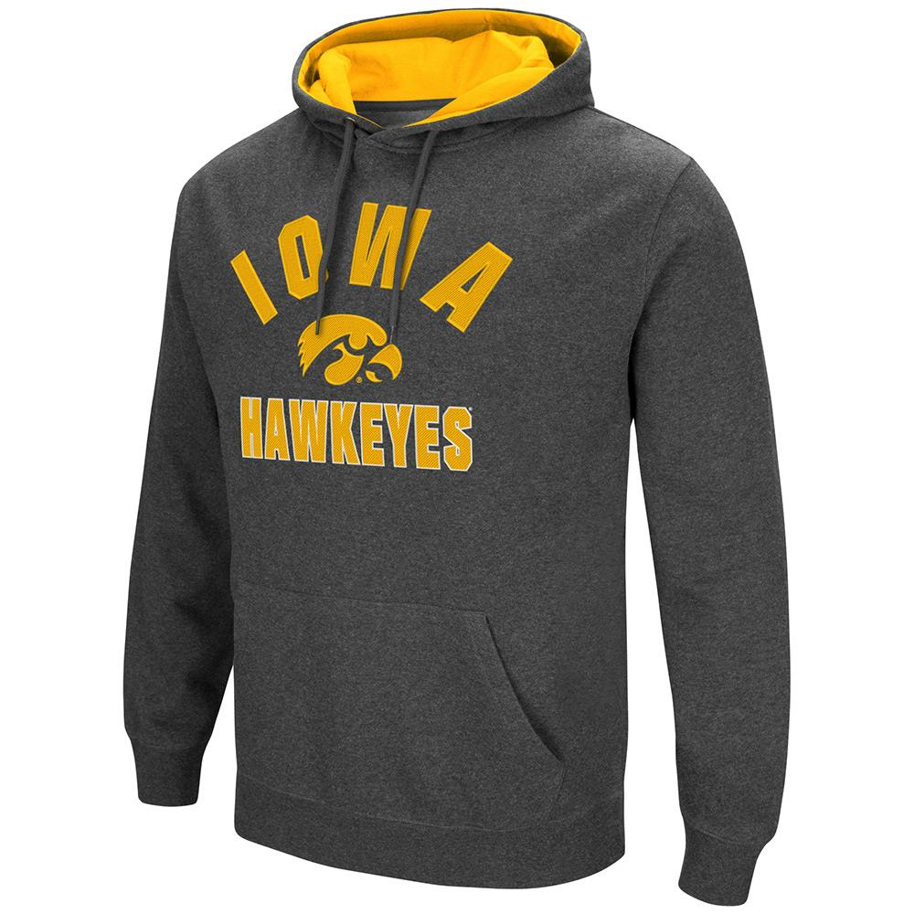 Mens NCAA Iowa Hawkeyes Pull-over Hoodie by Colosseum
