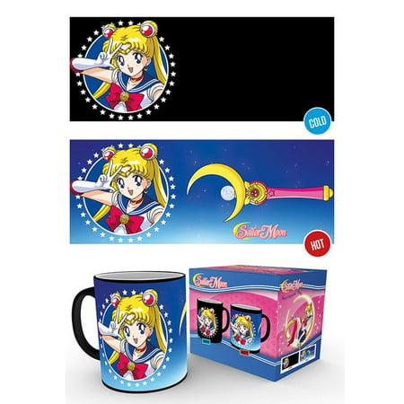 Sailor Moon - Thermal Ceramic Heat Change Coffee Mug / Cup - Sailor Moon Halloween Tumblr