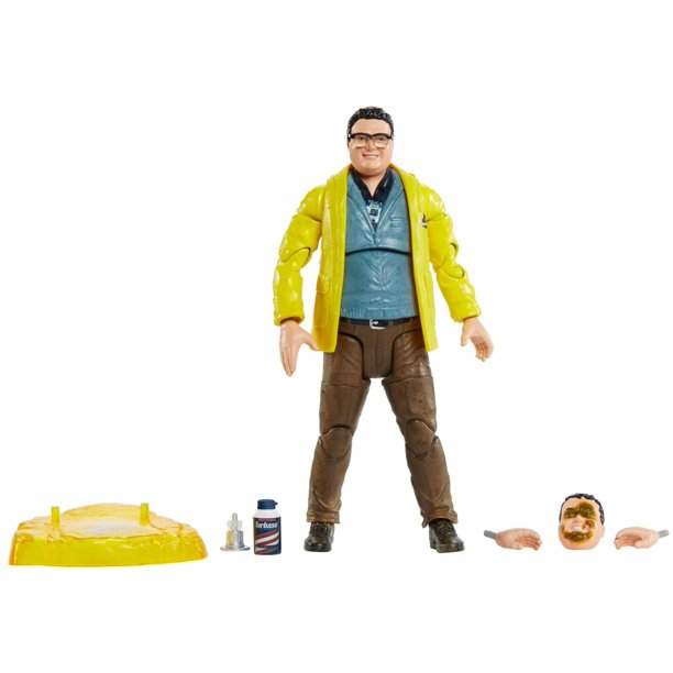 Jurassic Park Dennis Nedry 6 Inch Scale Amber Collection Action Figure Walmart Com Walmart Com