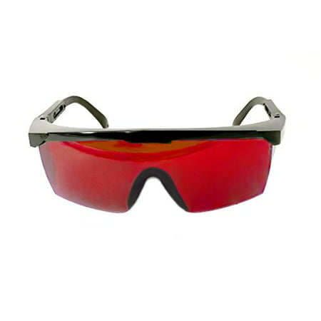SMYRNA Laser Eye Protection Safety Glasses for Red and UV Lasers Goggle Glass Shield with Case](Red Eye Glass)