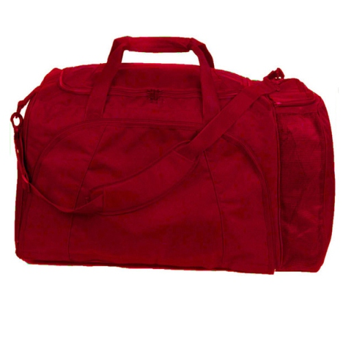 Champion Sports Football Equipment Bag - Red