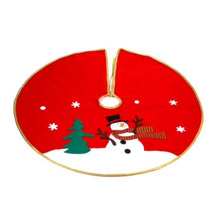 Imperial Home Christmas Snowman Tree Skirt
