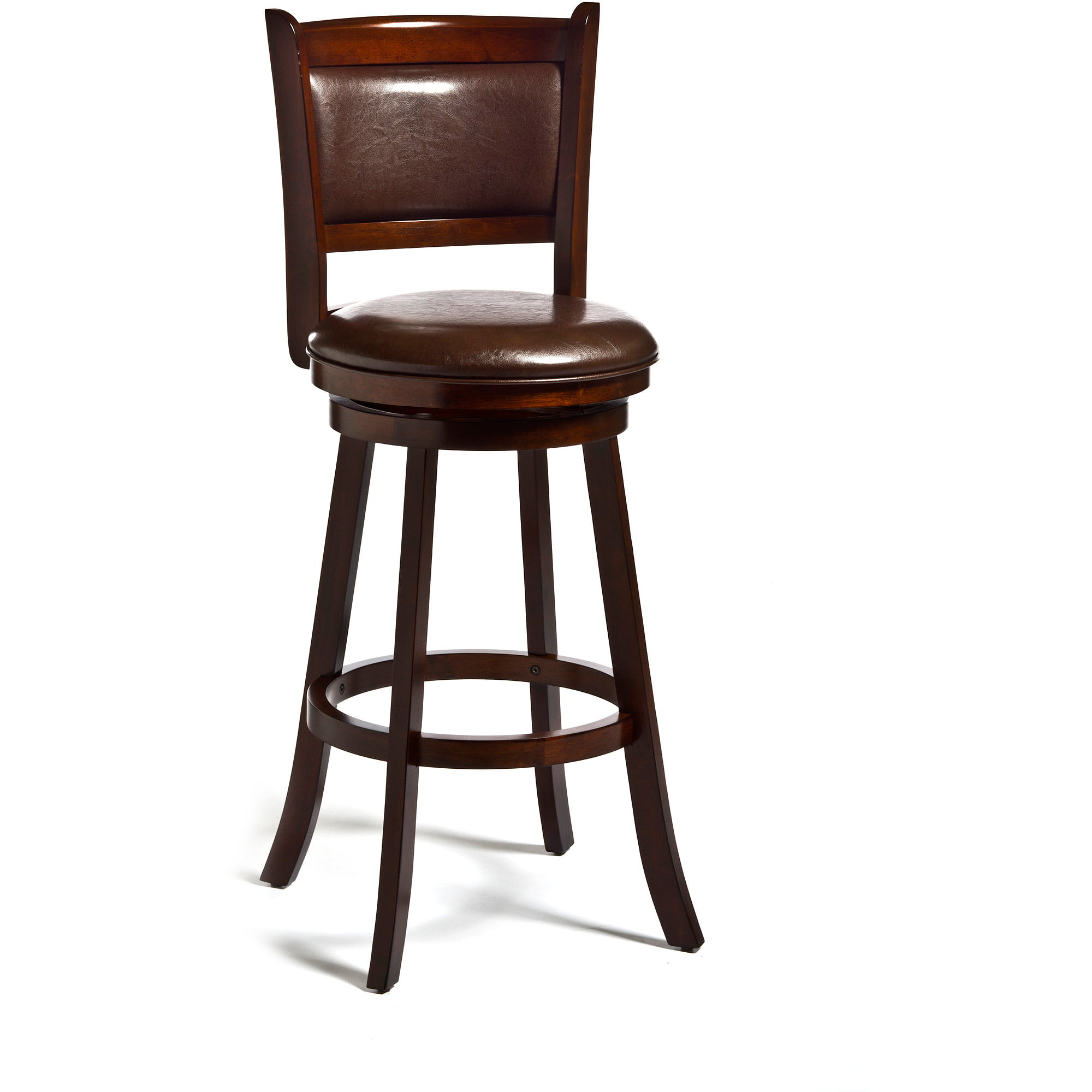 "Hillsdale Dennery 29"" Swivel Bar Stool in Cherry by Hillsdale Furniture LLC"