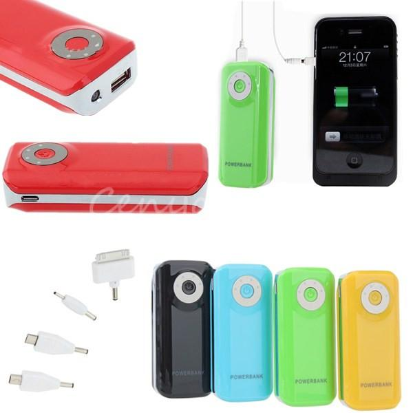 External Battery USB Charger Power Bank Backup 5600mAh Battery for Phone Mobile Phone,Red color