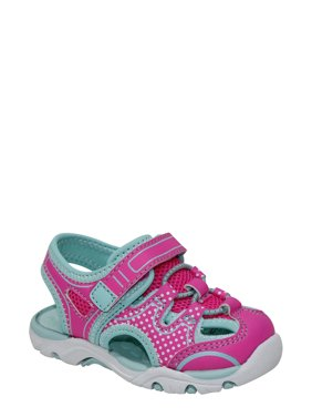 7b2da6ec9e1552 Product Image Wonder Nation Infant Girls  Sport Fisherman Sandals