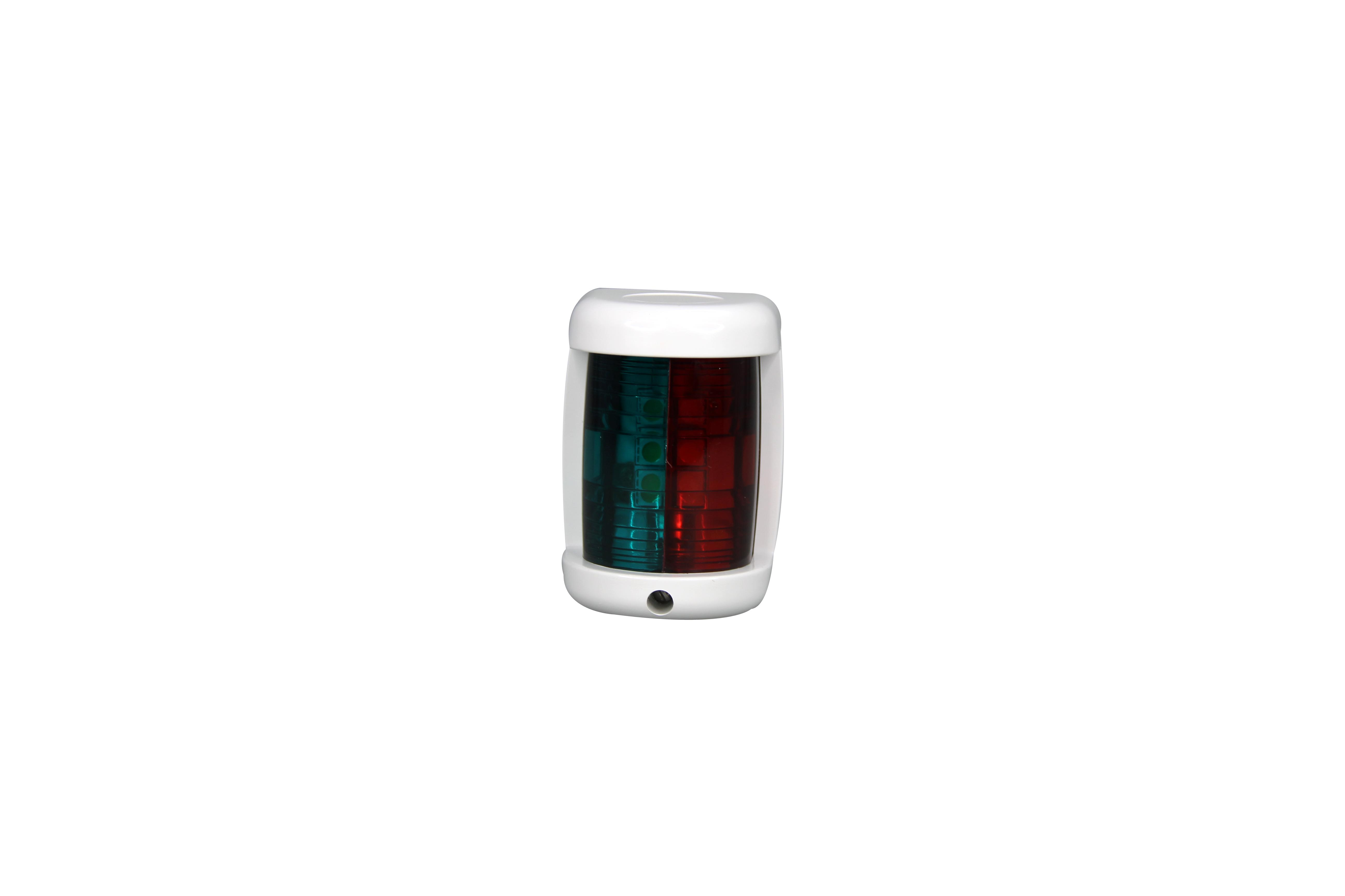 Pactrade Marine Boat Mini Red/&Green Combination Bow LED navigation Light 12v 2NM