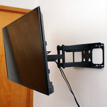 CASL Brands Full-Motion Articulating TV Wall Mount Bracket with Tilt Swivel Action, Up to 25 Inch Extension Arm, Fits 37-70 Inch Plasma Flat Screen Television, 140 Pound Weight Capacity