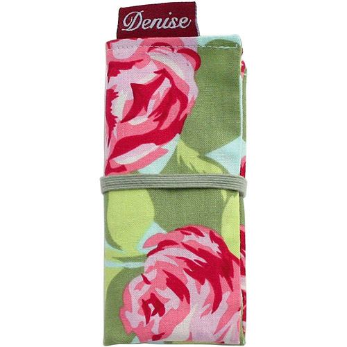 Denise2Go Interchangeable Knitting Tools Set, Pink Roses